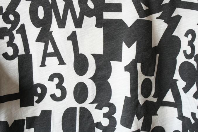 leahwise - alphabet shirt