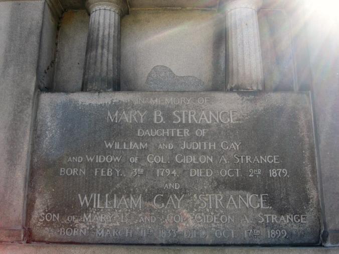 solar flare gravestone