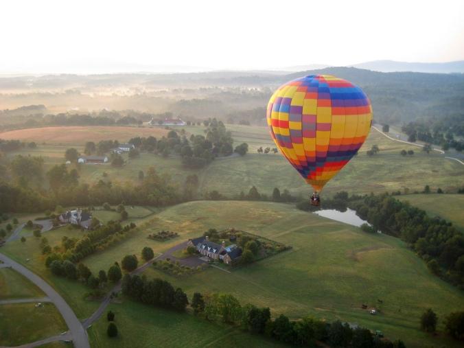 hot air balloons charlottesville