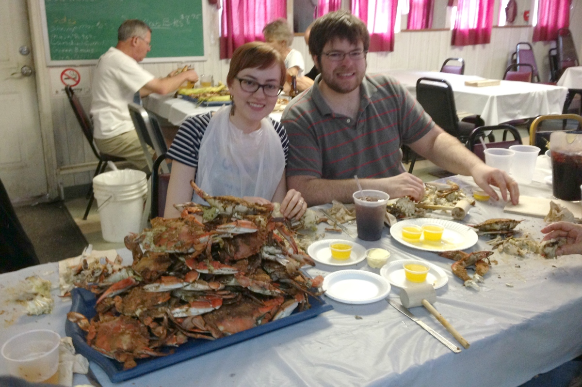 maryland steamed crabs feast