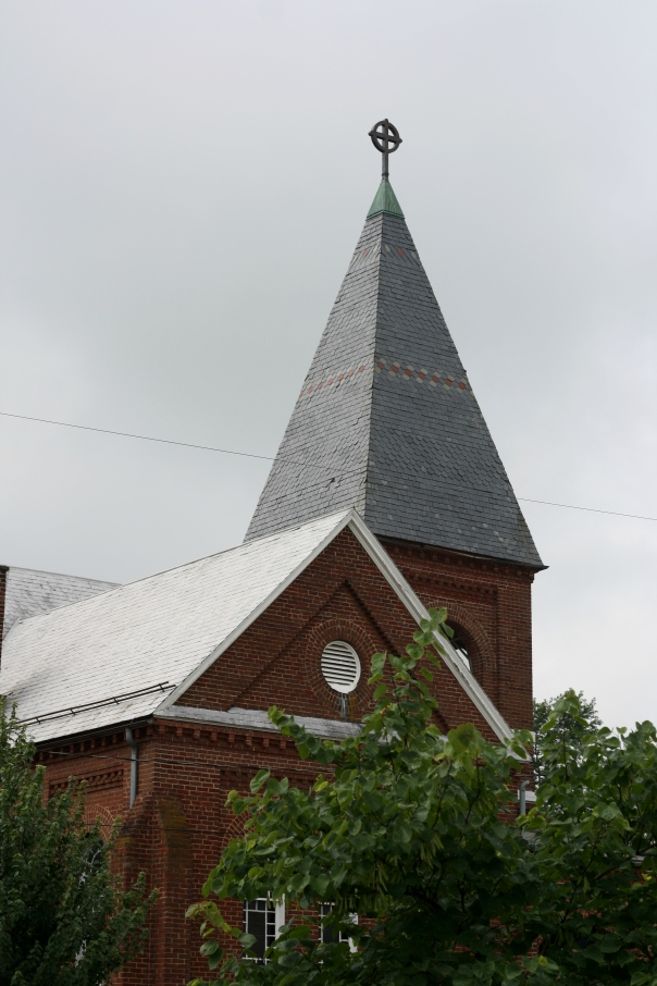 lutheran church steeple
