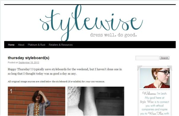 blog design fashion blog