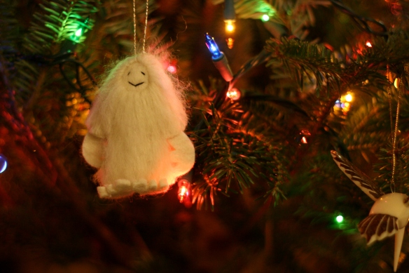 awesome yeti ornament
