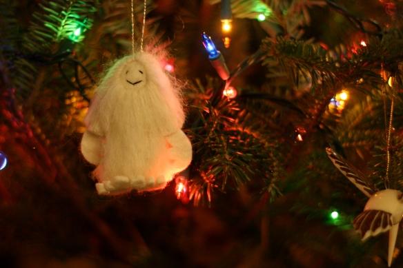awesome yeti ornament